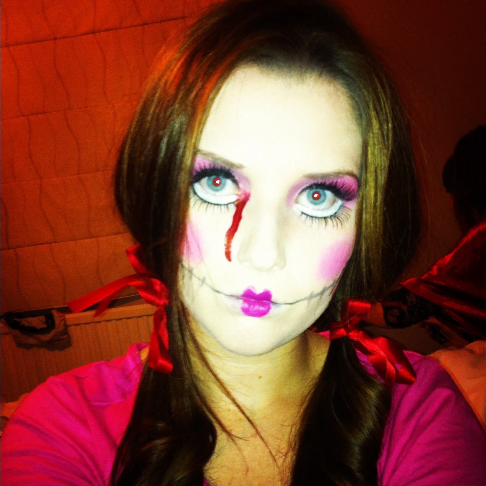 Beauty Spot!: Halloween Rag Doll Makeup...