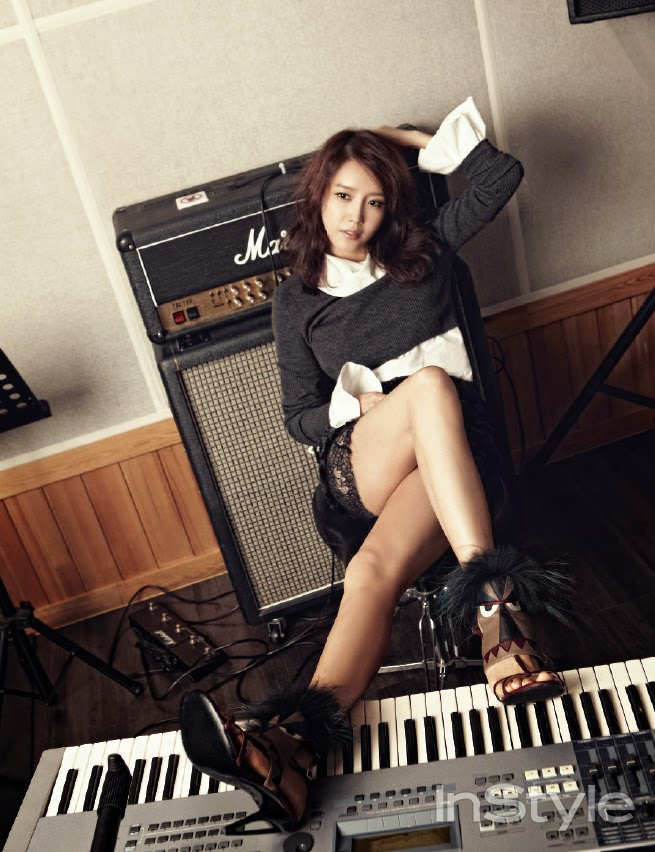 Chae Jung Ahn - InStyle Magazine November Issue 2014