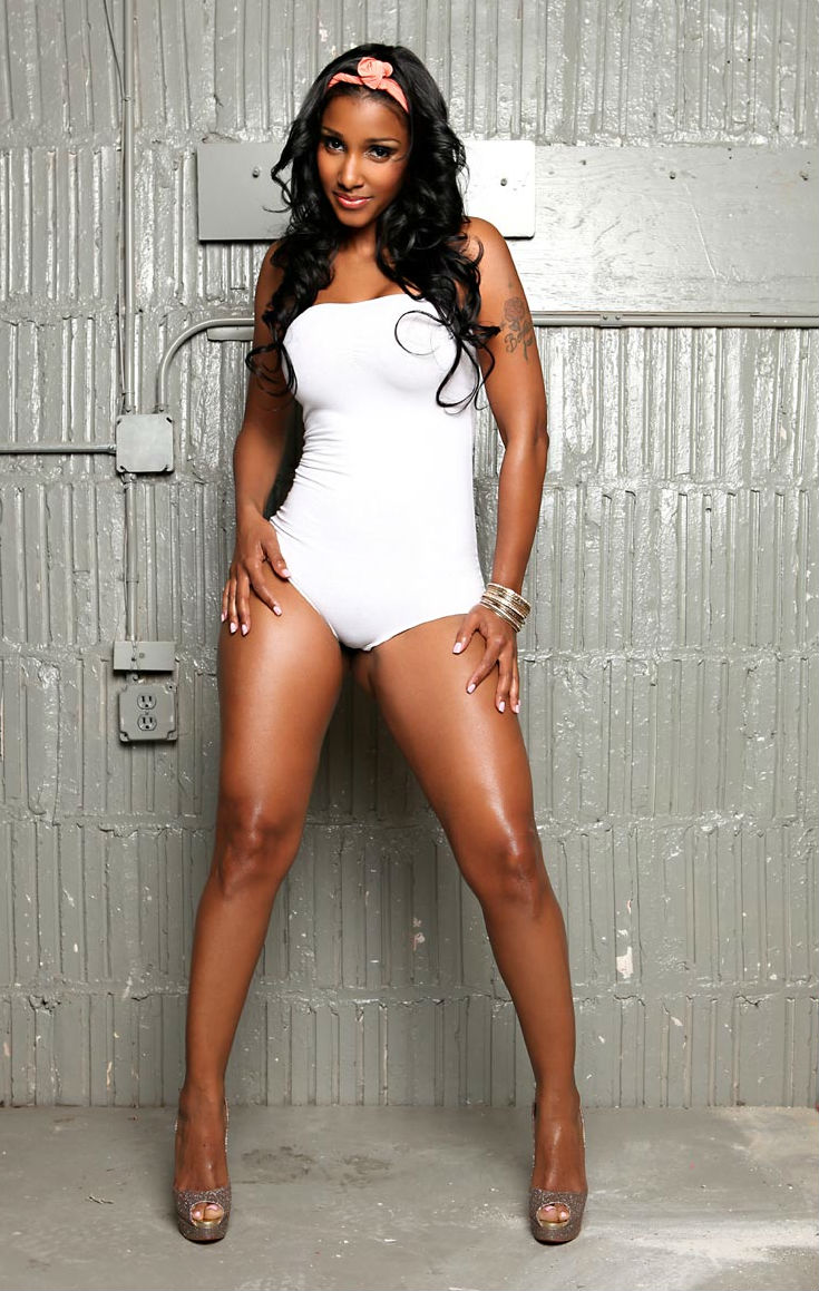 Peach Model Gallery 259 http://www.bootymotiontv.com/2011/09/bernice-burgos-white-one-piece.html