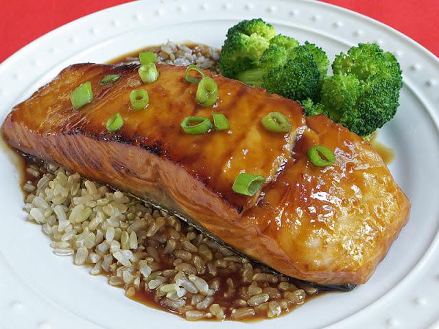 Teriyaki Salmon for One