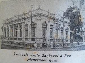 Palacete Leite Sandoval - Franca