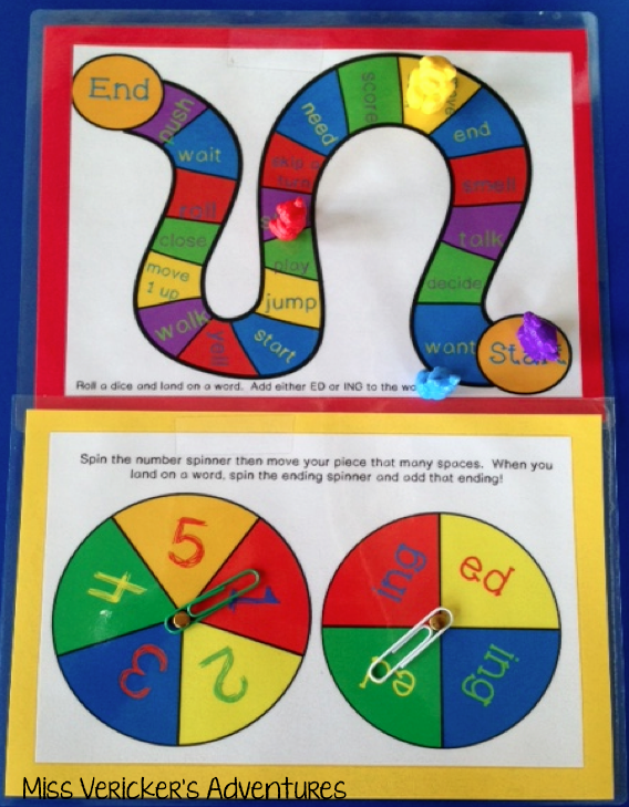 Reading Snapshot: ED and ING Inflectional Endings! | Miss Vericker's ...