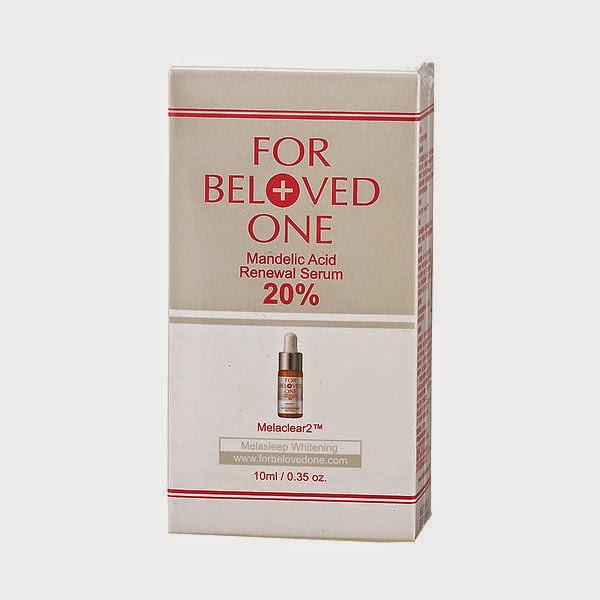 [PRE-Order] For Beloved One Mandelic Acid Renewal Serum 20%