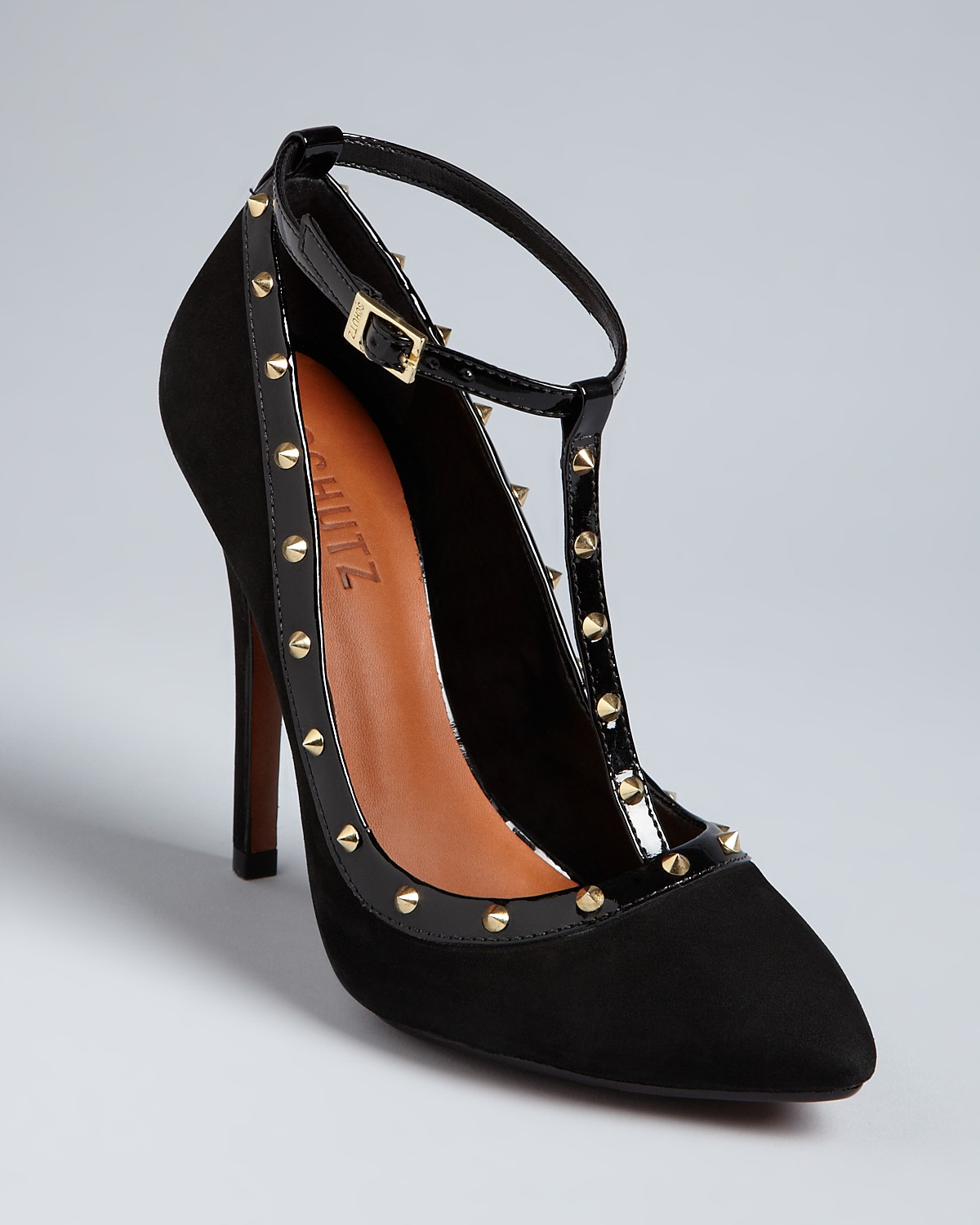 the studded pump...perfect holiday shoe