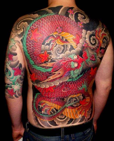 dragon japanese tattoo photo and design tattoo picture photos and design gallery. Black Bedroom Furniture Sets. Home Design Ideas