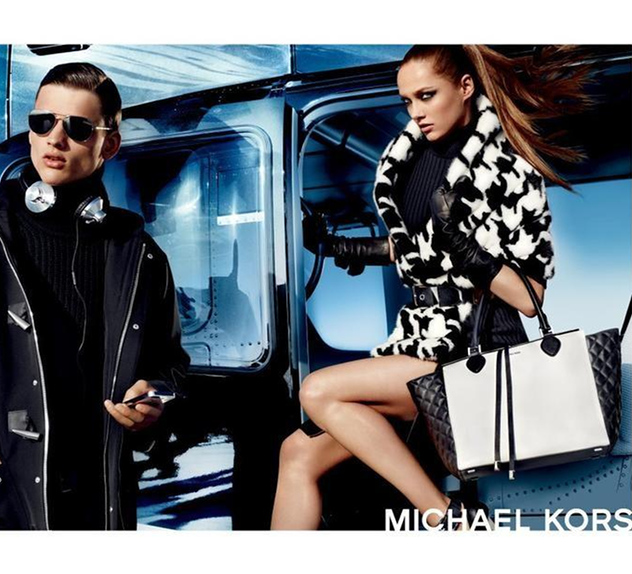 Michael Kors Fall/Winter 2013 military Campaign