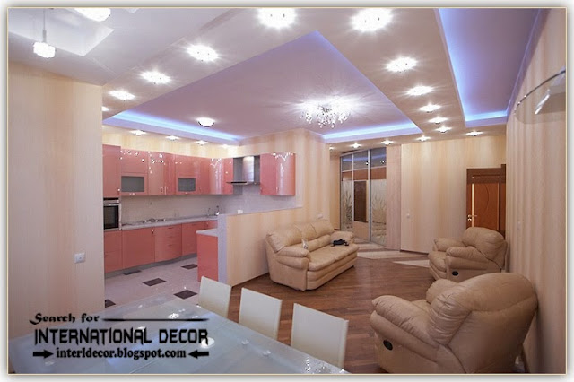 modern pop false ceiling designs ideas 2015 spotlight for living room