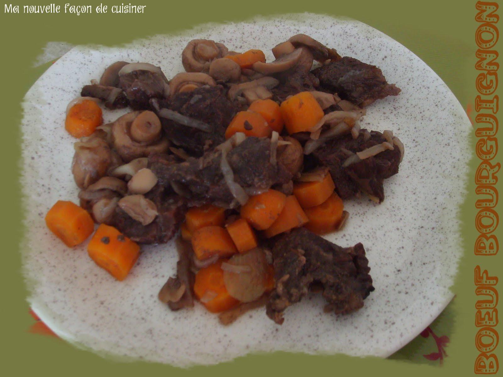 Ma nouvelle fa on de cuisiner boeuf bourguignon 6 - Cuisiner rognon de boeuf ...