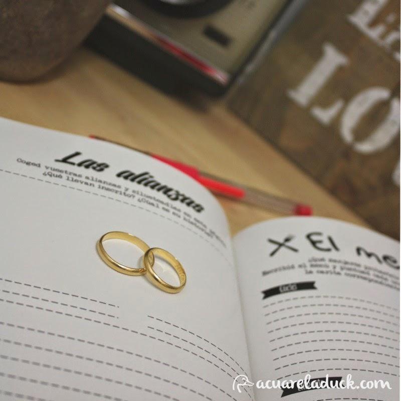 libro para escribir en pareja