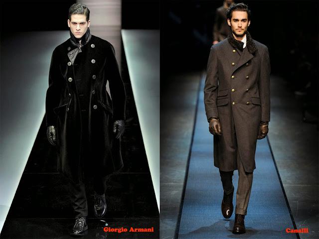 Tendencia otoño_invierno 2013-14 chaquetas de inspiración militar: Giorgio Armani y Canalli