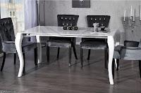 luxusny stôl do jedalne v barokovom style, dizajnovy jedalensky stôl