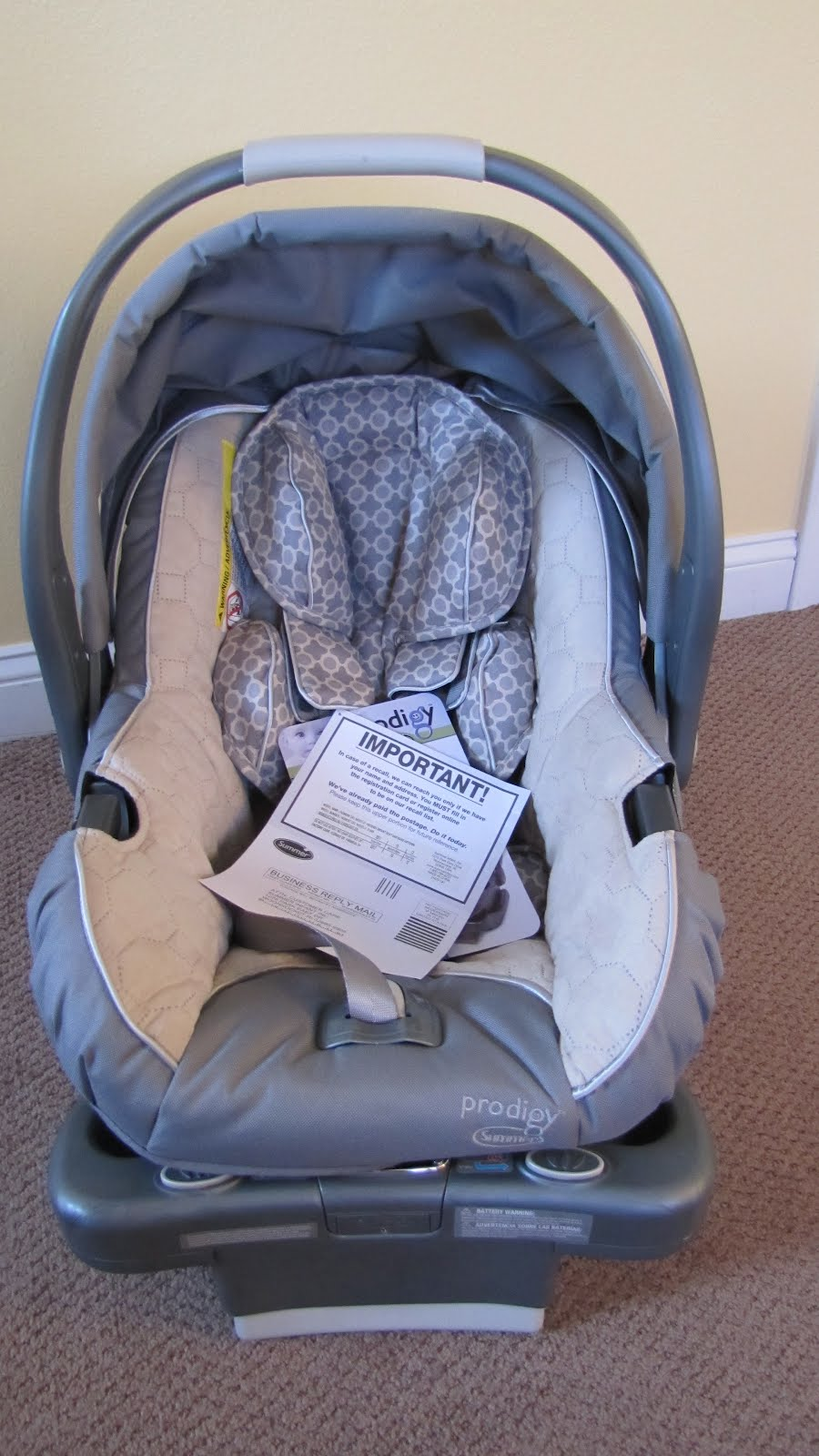Summer Infant Prodigy Car Seat Giveaway