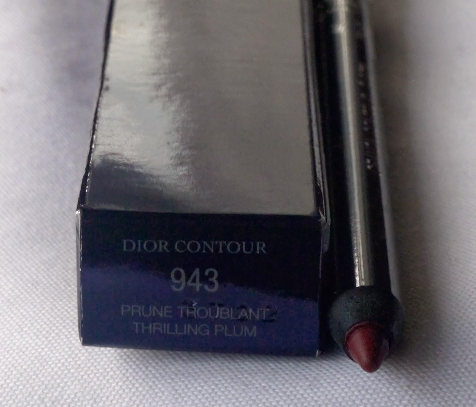 Dior Thrilling Plum Lip Liner