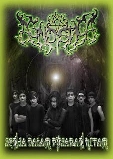 Photo Wallpaper Band Agnostica Speed Harmonic Black Metal Banyumas Jawa Tengah