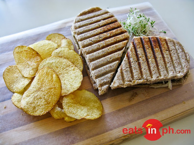 Chicken Pesto Sandwich from SAB Bistro in Angeles City, Pampanga