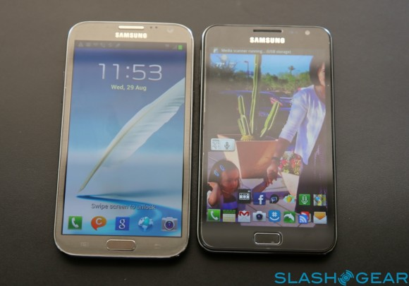Galaxy Note 2 vs Galaxy Note - the Review