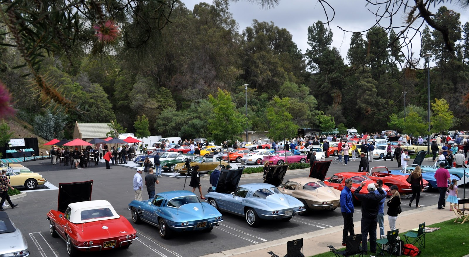Just a car guy the 2013 greystone mansion concours de for The greystone