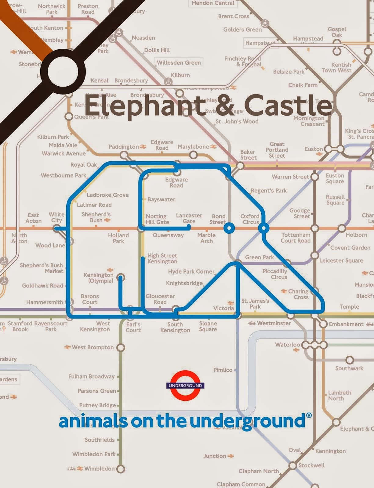 """Hello"" from Animals on the Underground"