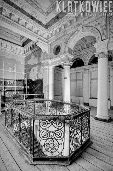 Wnętrze willi Grohmana w Łodzi