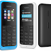Microsoft Kembali Merilis Nokia 105 - Dengan Berbagai Peningkatan dan Varian Dual SIM