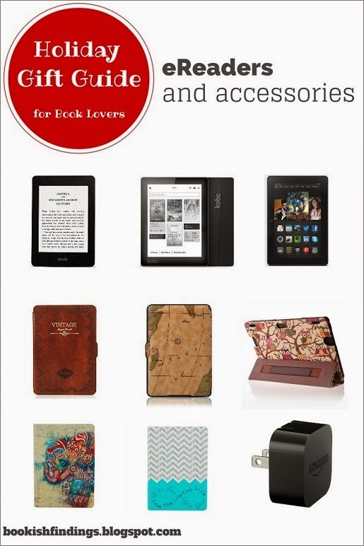 Holiday Gift Guide for Book Lovers - eReaders and Accessories