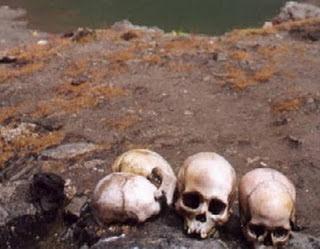 Η μυστηριώδης λίμνη με τους 600 σκελετούς!
