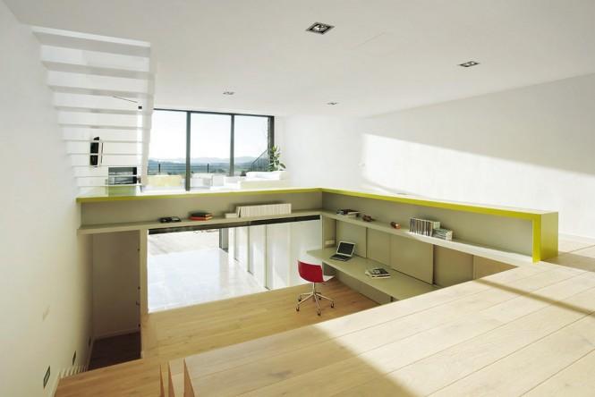 Diseo de Interiores Arquitectura Casa Paso Minimalismo Fabuloso