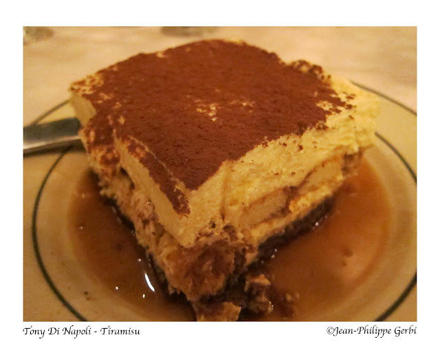 Image of Tiramisu at Tony Di Napoli in Times Square NYC, New York