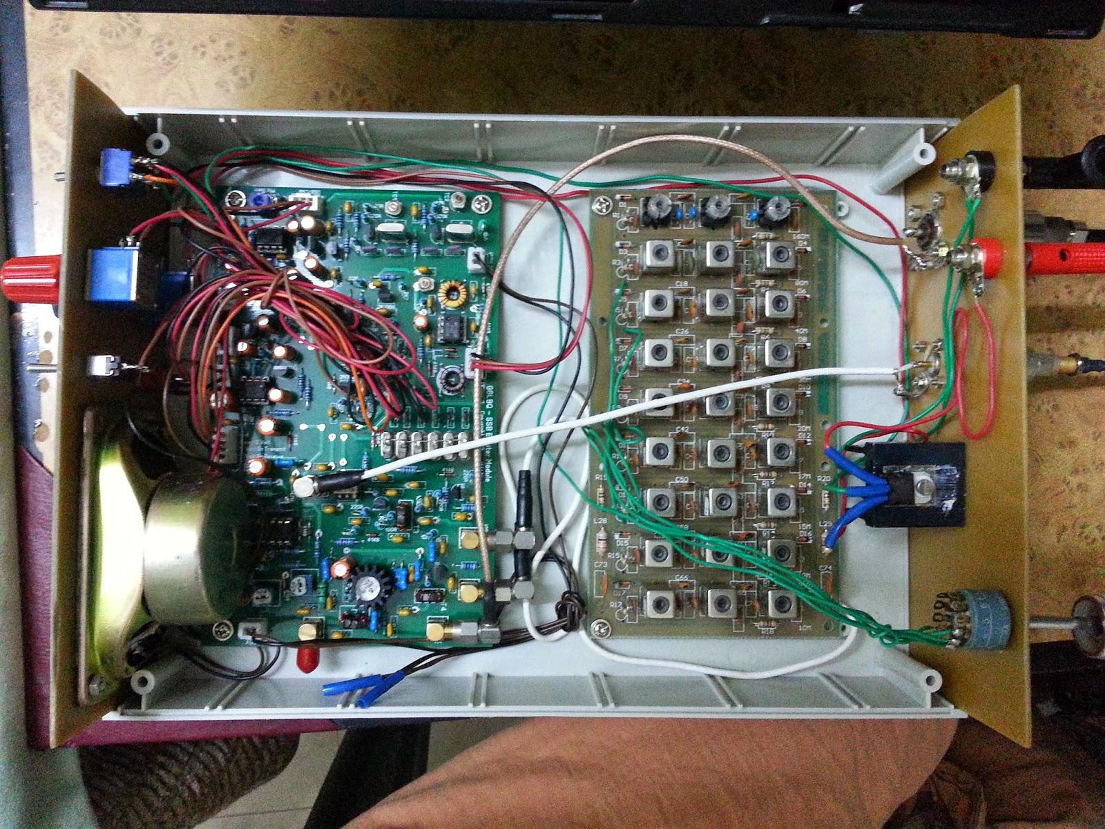 how to build a transceiver