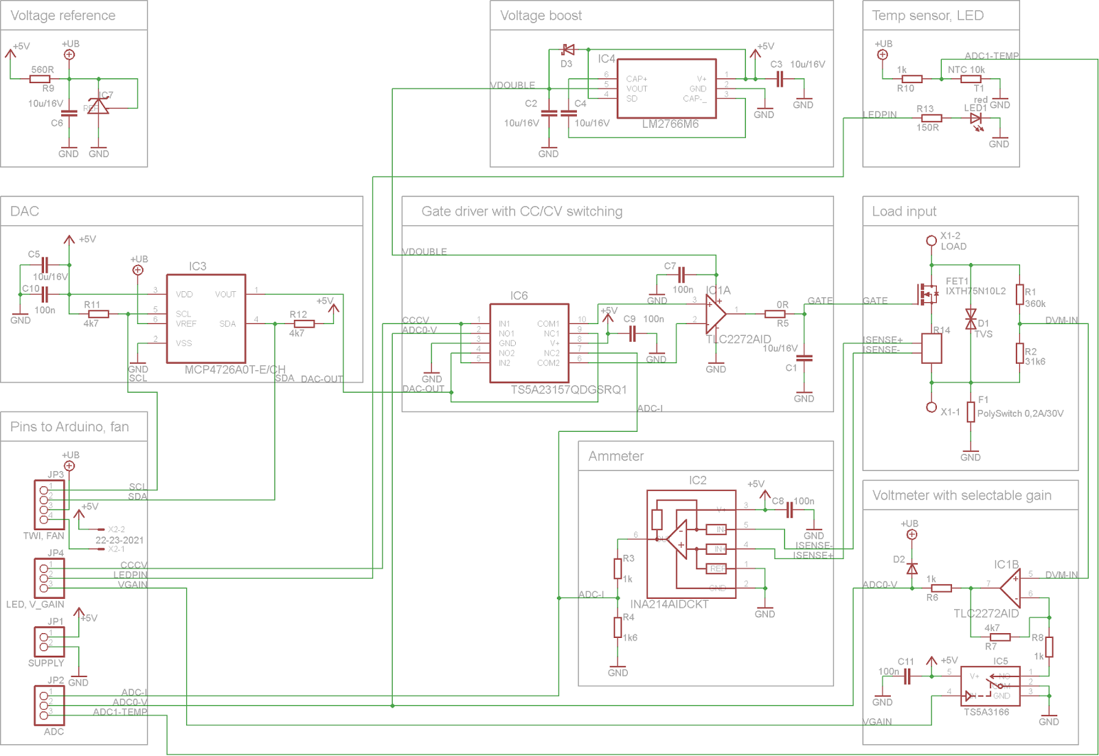 Kaktus Circuits Mightywatt Arduino Electronic Load Testingelectroniccomponents 2methodsfortestingmosfetshtml Assembled