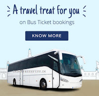 Get Bus Tickets buy 1 get 1 free