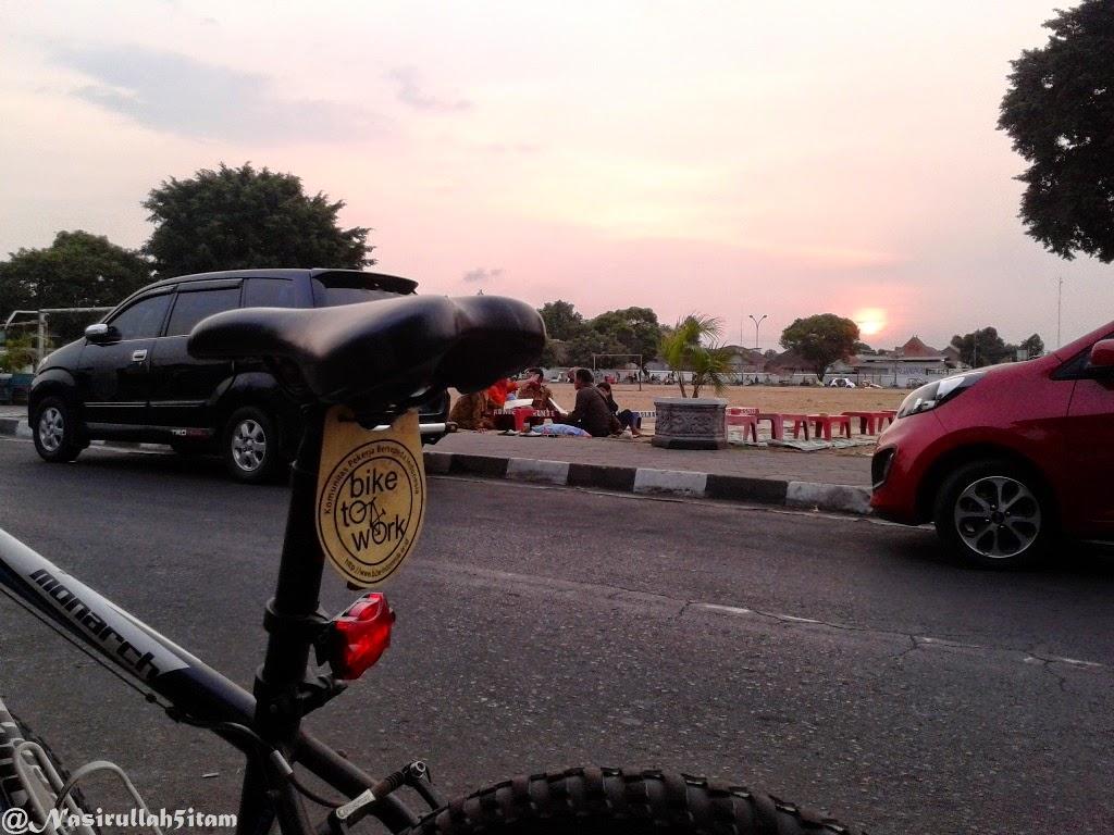 Sunset di Alun-alun Kidul, Yogyakarta