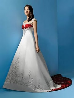 Beautiful Wedding Gown Fashion Design