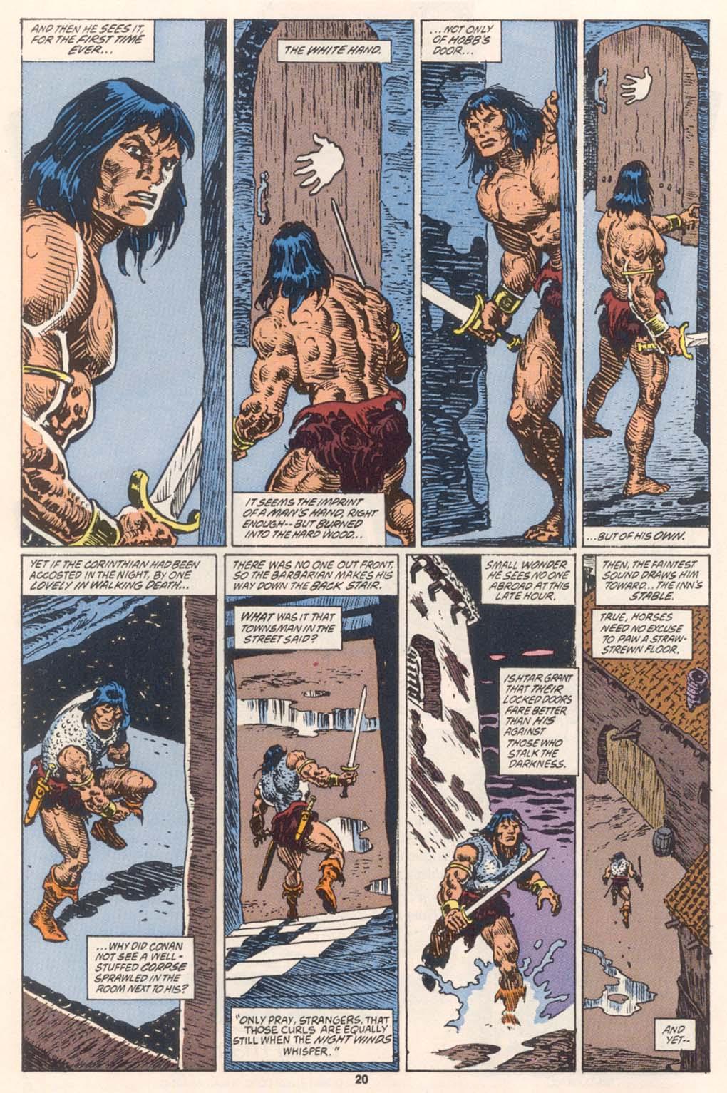 Conan the Barbarian (1970) Issue #252 #264 - English 16