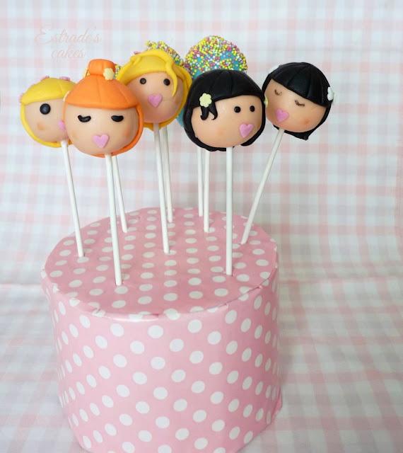 cake pops de muñecas - 4