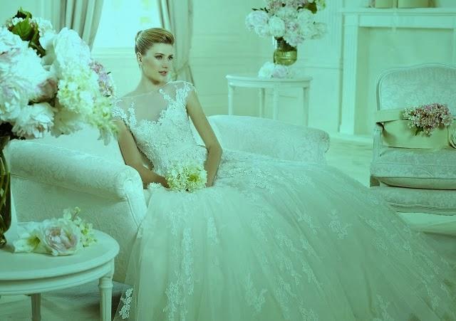Elie saab and pronovias wedding dresses for 2015