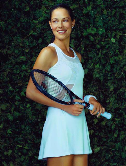 Ana Ivanovic 2013 adidas dress