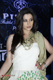 Madhurima Banerjee Latest Pictures in Printed Long Dress at Muse Art Gallery 0011