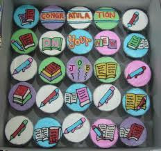 Congratulation Cup Cakes