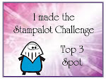 Made it to Top 3 at Sir Stampalot !!