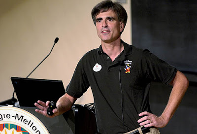 Randy Pausch giving his final lecture