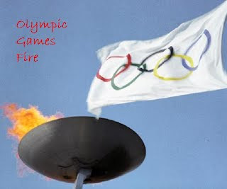 Olympic Games Fire Photo