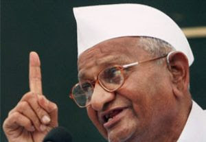 Buzzing News: Lokpal Bill: Cong rejects Anna Hazare's telecast demand