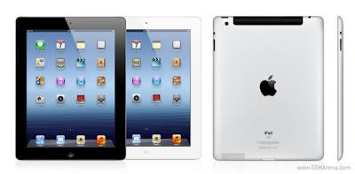 gambar ipad 3, harga dan spesifikasi tablet apple ipad 3, resolusio layar ipad terbaru 2012, kapasitas memori dan harga ipad baru