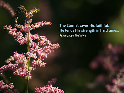 He lends His strength
