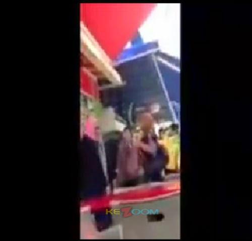 Video Isteri Serang Kekasih Gelap Suami