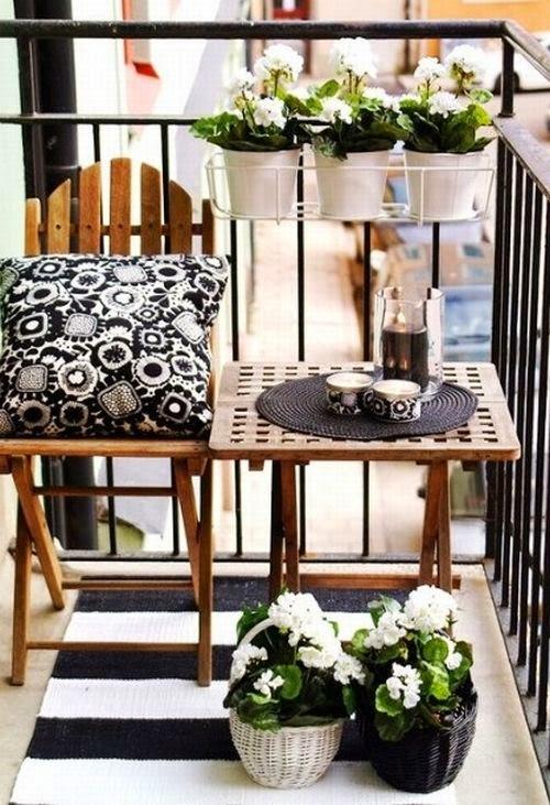 Kucuk Balkon Dekorasyonu Nasil Olmali
