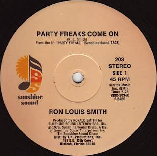 Ron Louis Smith - Party Freaks Come On 1978 12 Inch