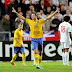 Sweden 2 : 0 Faroe Islands