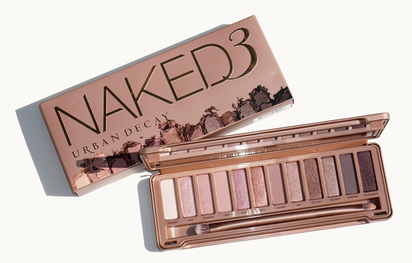 urban decay naked3 palette the beauty look book. Black Bedroom Furniture Sets. Home Design Ideas